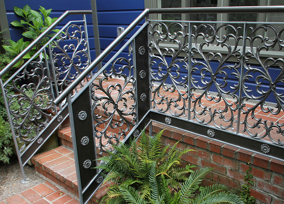 Trellis and Hand Railing